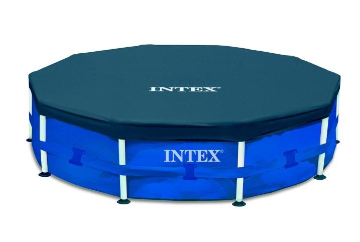 Тент крышка для каркасного бассейна 366см INTEX 28031