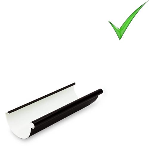 Водосточная система Galeco PVC 130 мм RAL 9005 Черный