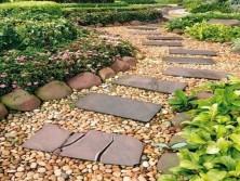 дорожки и тропы в саду из натурального камня