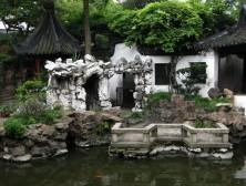 натуральный камень в ландшафтном дизайне, китайский стиль