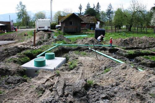 Выгребная яма принесет частичку городского комфорта на дачу