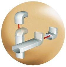 отводы водосточная система Овация