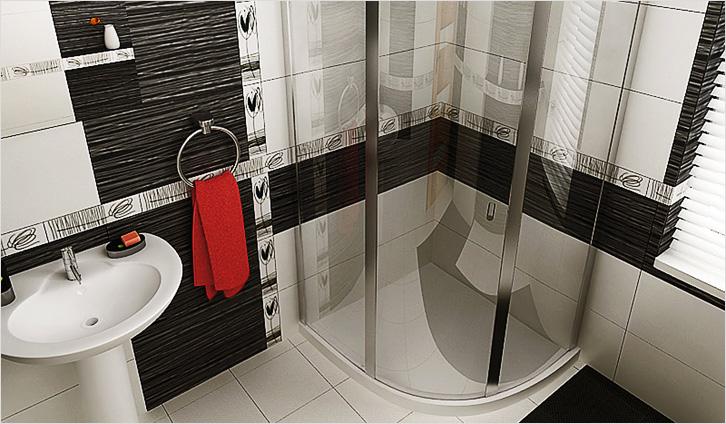 Как визуально расширить ванную