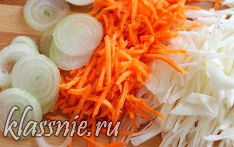 морковь с луком