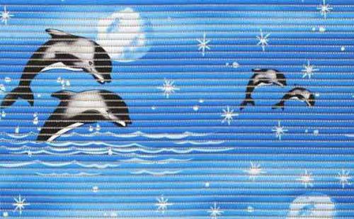Коврик из вспененного пвх с дельфинами (фото)