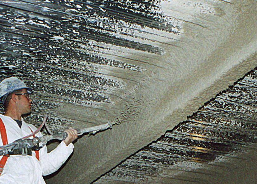Нанесение огнезащитного состава для металлоконструкций Весталайт