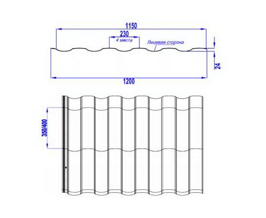 Картинки по запросу металлочерепица  МОНТЕКРИСТО характеристики