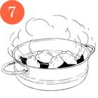 Рецепты шефов: Дим-самы скреветками, уткой и тыквой. Изображение № 10.