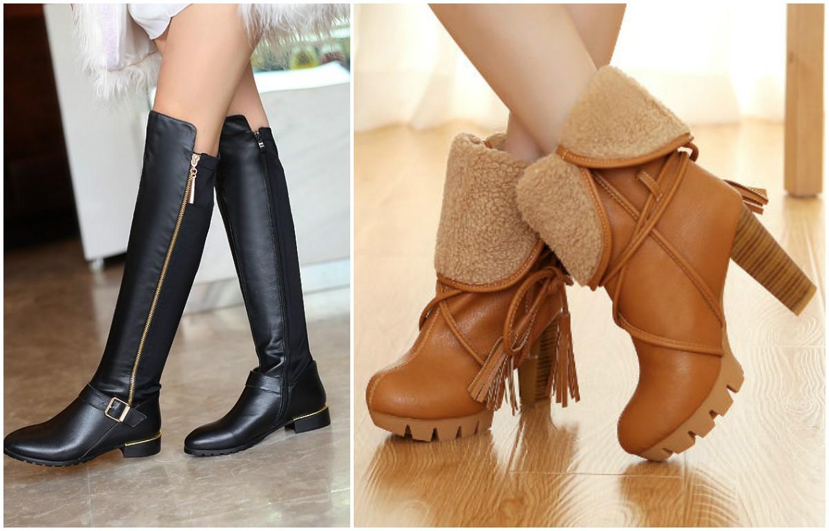 Купить женские сапоги в интернте магазине обуви Мариго
