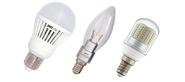 светодиодные лампы накаливания