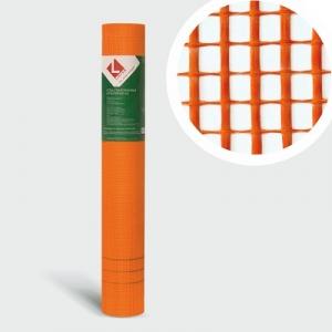 Стеклосетка штукатурная 5х5 Оранжевая*м²