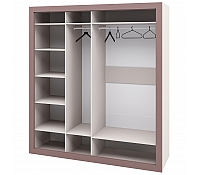 Шкаф для одежды МН-118-04-220