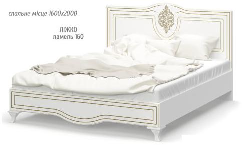 Кровать спальня Милан Мебель сервис