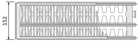 stalnye radiatory purmo s bokovym podklucheniem 33 tipa