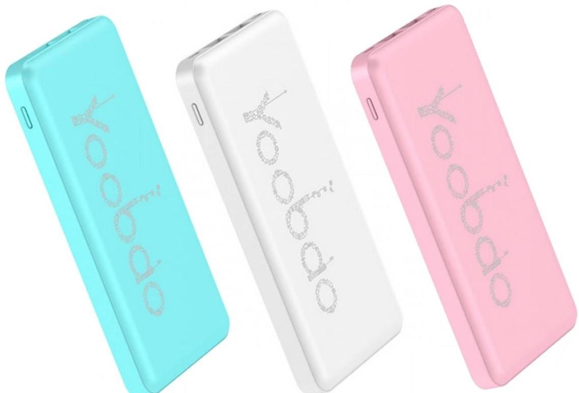 Картинки по запросу yoobao power bank pl12 12000 mah (розовый)