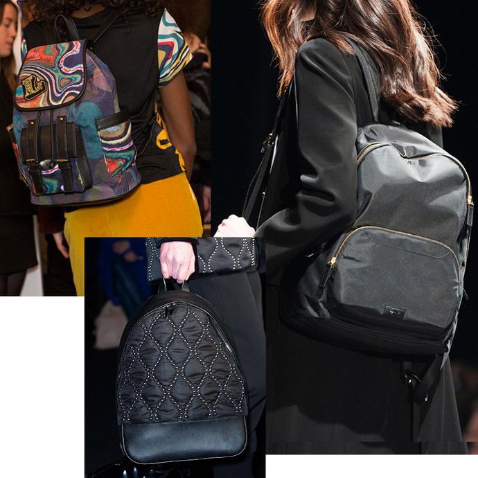 Модные женские сумки осень-зима