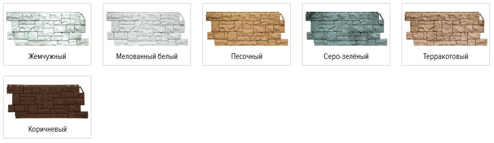 Фасадные панели FineBer серии «Камень дикий»
