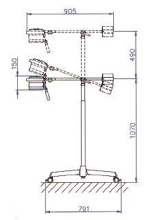 Медицинские светильники Мастерлайт 20 размеры