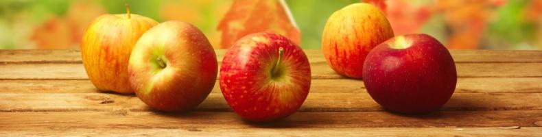 Яблоки содержат пектин