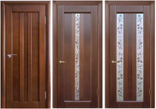 Внешний вид ПВХ дверей