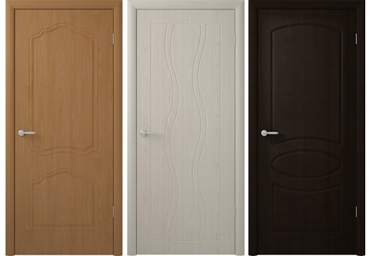 Модели ПВХ дверей