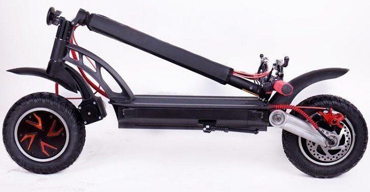 Kugoo G-Booster двухмоторный электросамокат