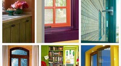 Пластиковые окна цветные, цена