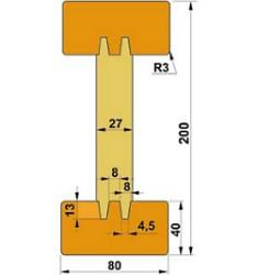 балка деревянная двутавровая для опалубки перекрытий