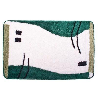 462-373 VETTA Коврик для ванной, акрил, 50x80см, зеленый