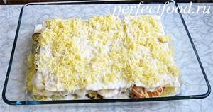 Вегетарианская лазанья с соусом бешамель - фото-рецепт 11
