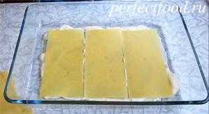 Вегетарианская лазанья с соусом бешамель - фото-рецепт 6