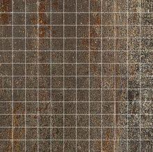 Cast Iron Oxidum Natural Mosaico 2,5x2,5 30x30