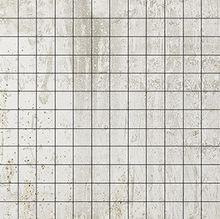 Cast Iron White Natural Mosaico 2,5x2,5 30x30
