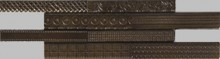 Apavisa Nanoevolution leather mosaico sin fin 10x30