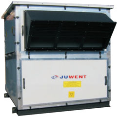 Бесканальные крышные приточно-рециркуляционные вентиляционные установки DAWGn, Juwent