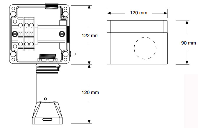 JBS-100-L-EP размеры