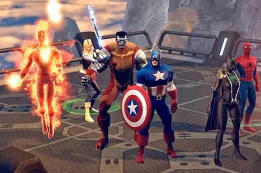 бесплатная онлайн игра Marvel Heroes 2015