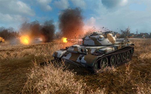 бесплатная онлайн игра World of Tanks
