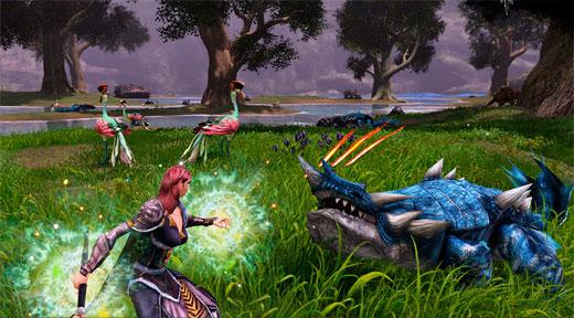 бесплатная онлайн игра Dragon's Prophet