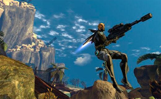 бесплатная онлайн игра Firefall