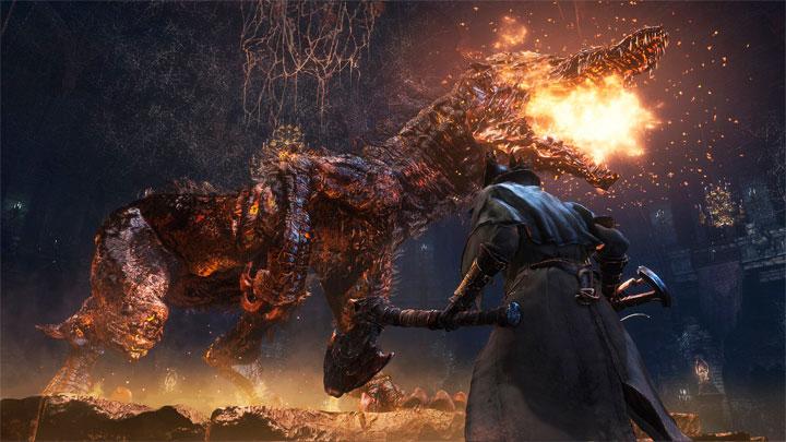 экшн RPG BloodBorne на PlayStation 4 вышел