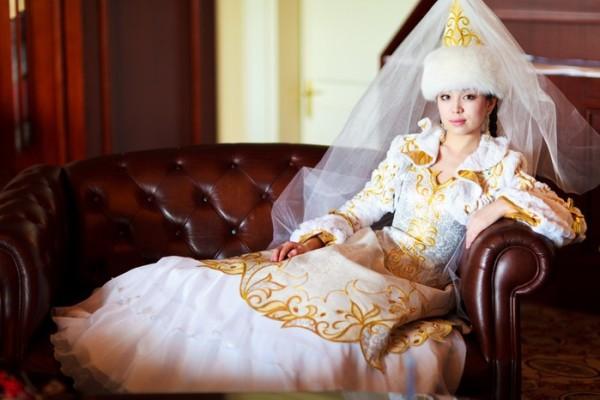 казахская невеста