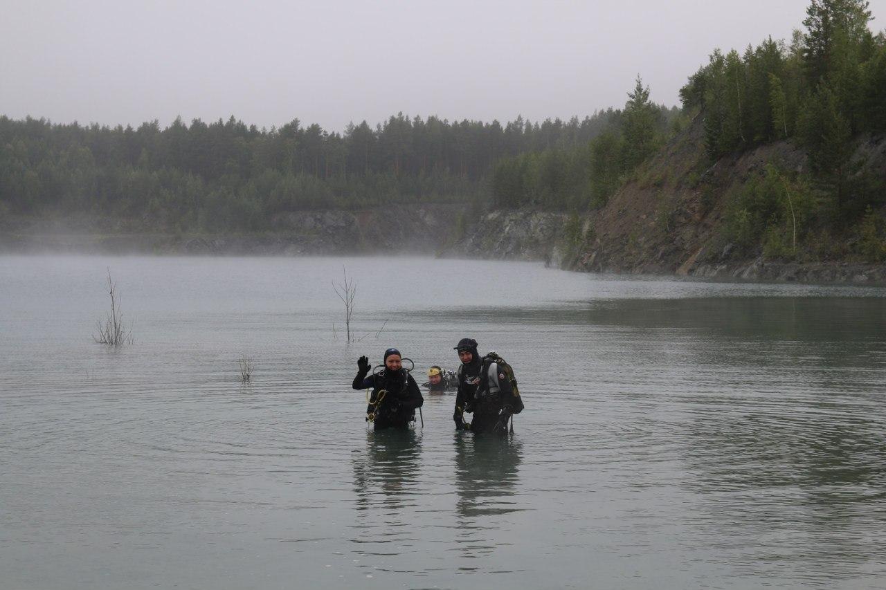 В водоемах области можно найти шокирующие вещи. Фото из архива Андрея Шелпакова