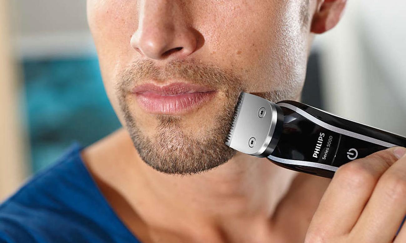 Этот универсальный триммер поможет Вам ухаживать за бороду, волосы, усы и бакенбарды