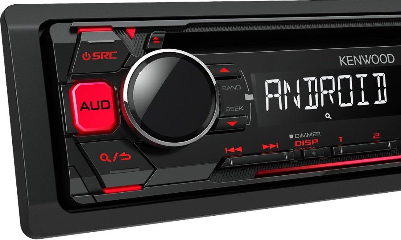 wysoka moc radia samochodowego Kenwood KDC-100