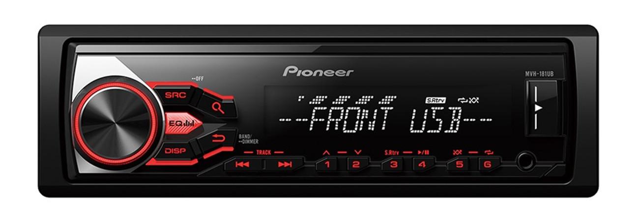 Pioneer усилителей mvh-181UB