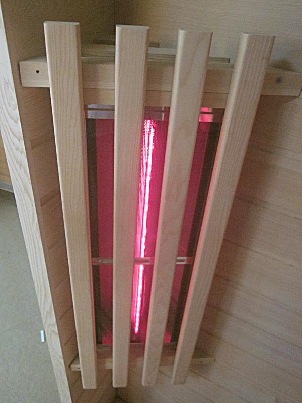 инфракрасная сауна KOY 01-k6 - фронтальный нагреватель