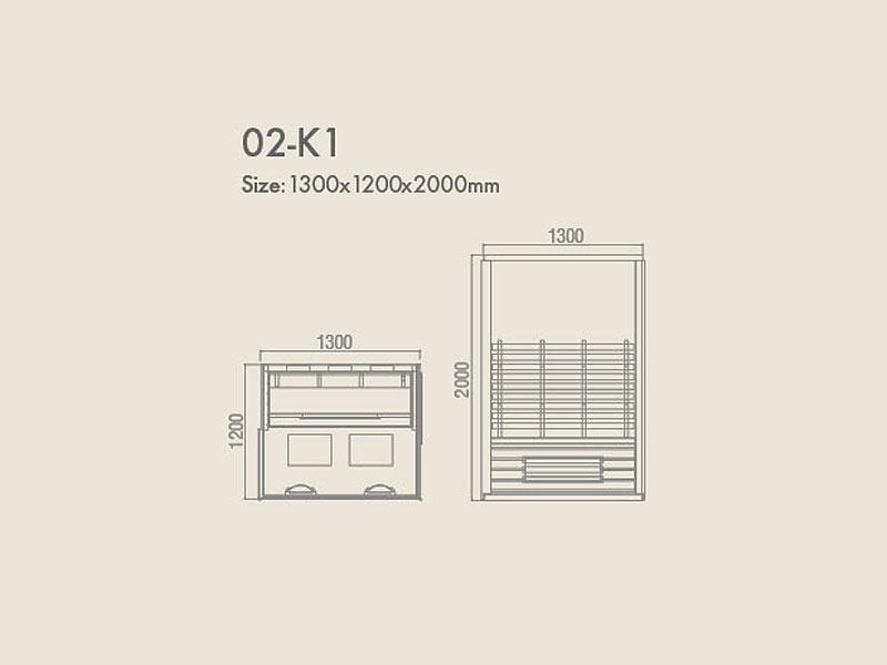 инфракрасная сауна KOY 02-k1 схема