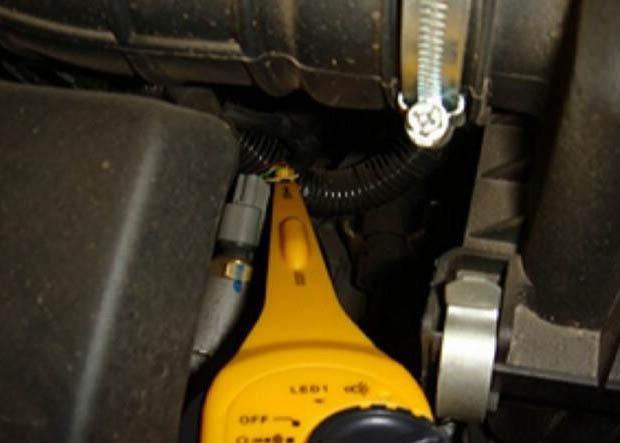 Простота измерений в автомобиле