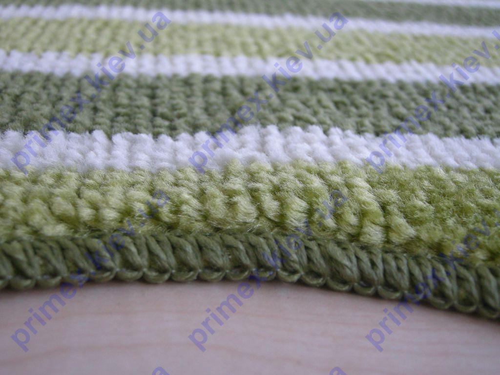 качественная отделка краев коврика